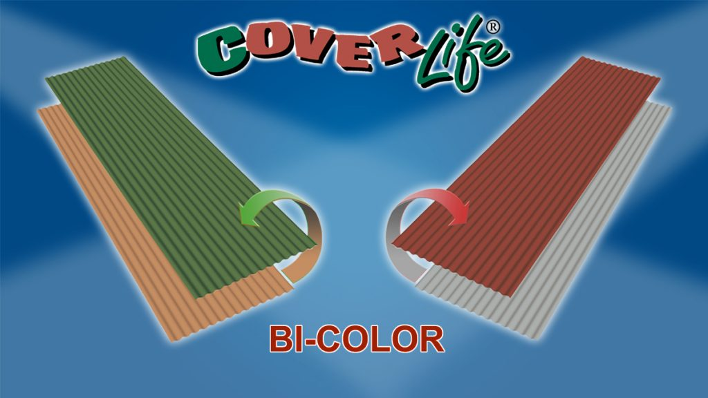 Ondina Bi-Color roofing sheet