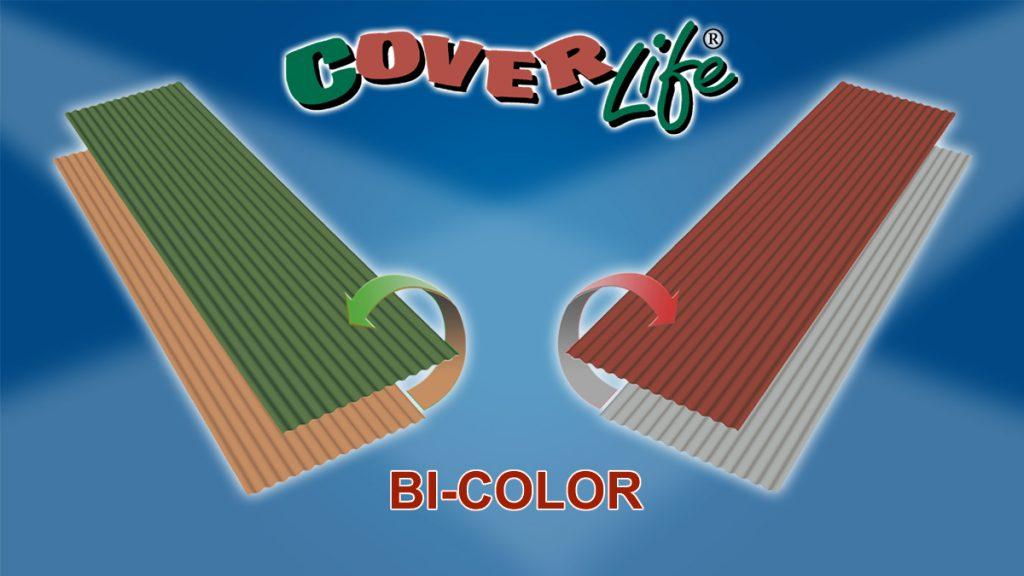 Ondina Bi-Color roofing sheet