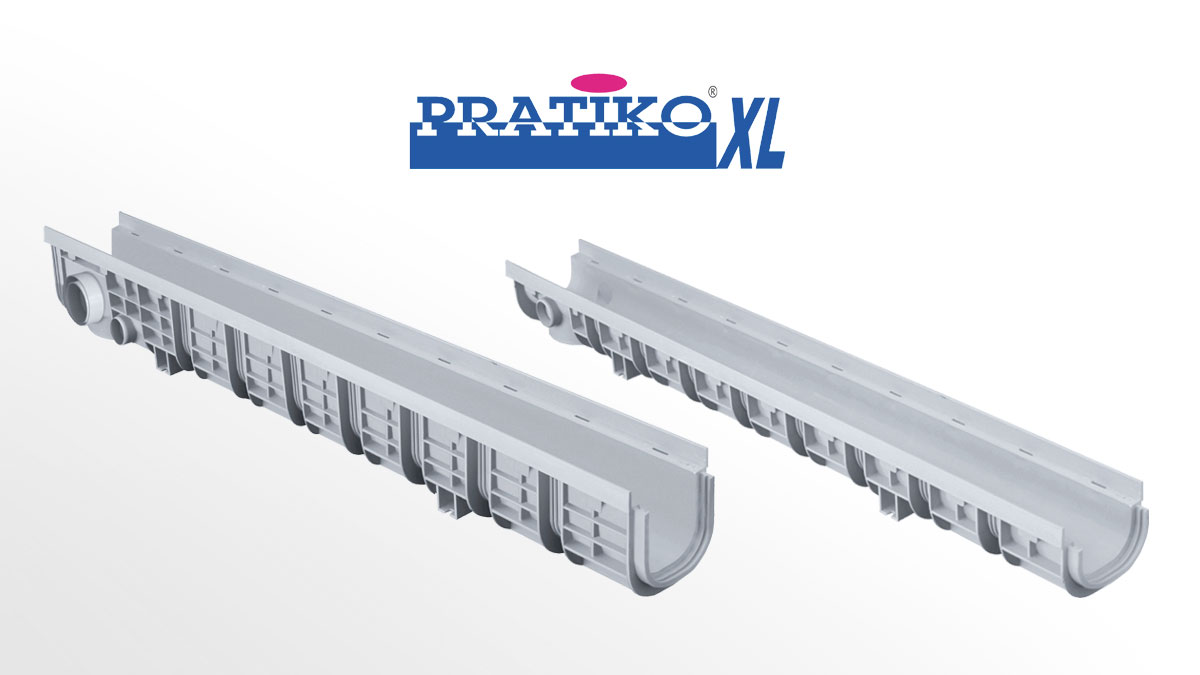 PP Drainage Channels PRATIKO-XL