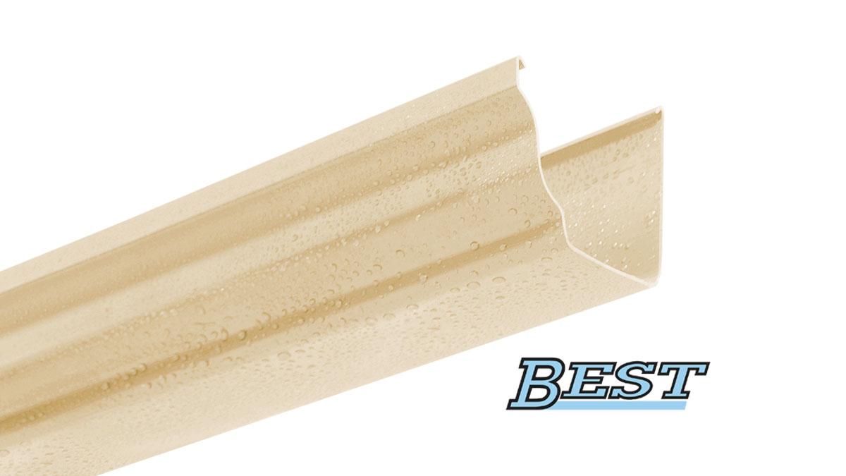 PVC rain gutter profile BEST