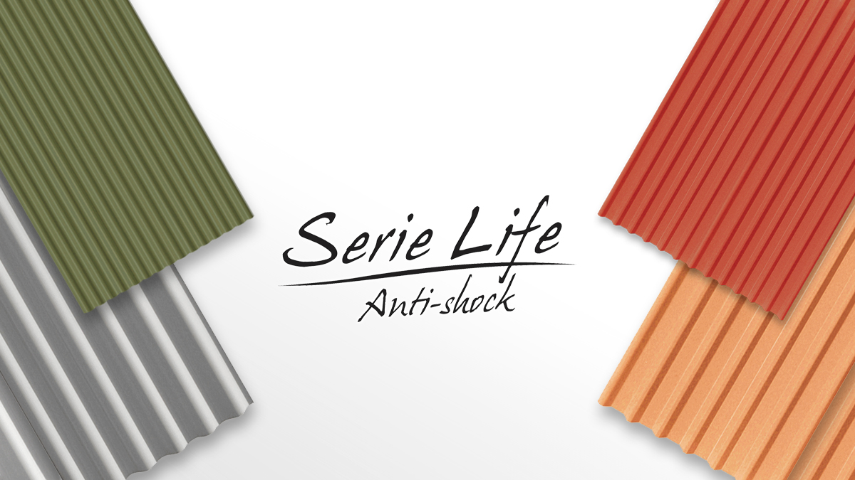 Serie-Life Industrial roofing sheets