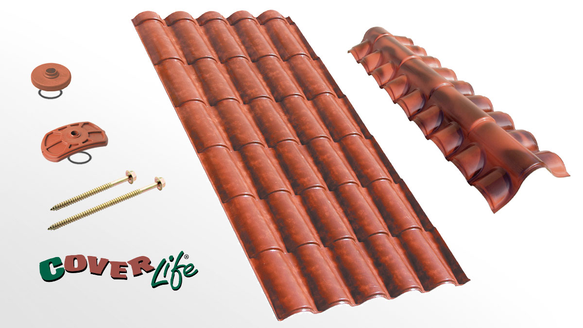 Residential roofing sheet - Coppo XL