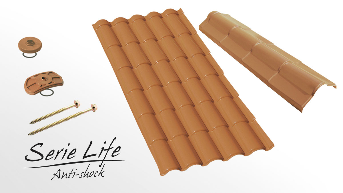 Residential roofing sheet - Coppo Life