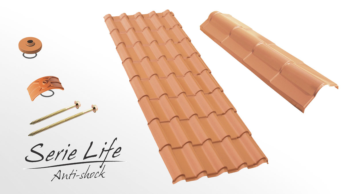 Residential roofing sheet - Latina Life