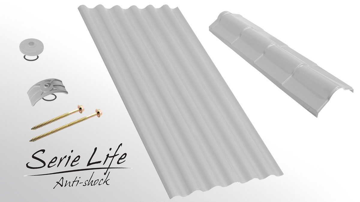 Industrial roofing sheet - Onda Life