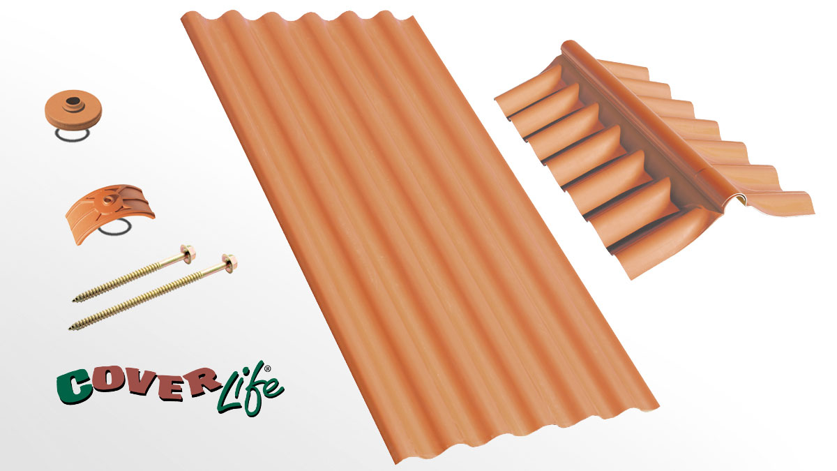 Industrial roofing sheet - Romana