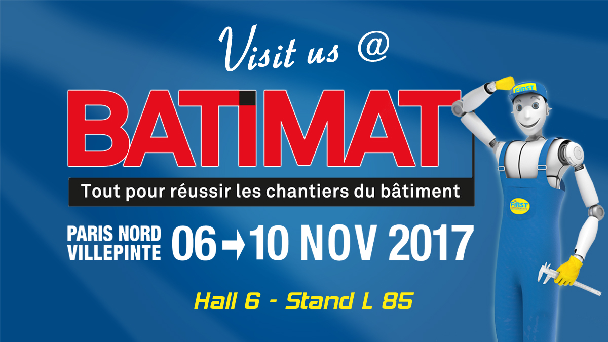 Batimat 2017 – Paris