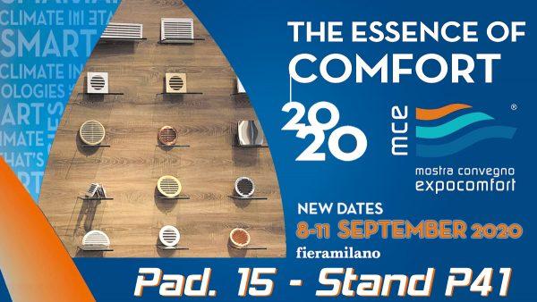 Mostra Convegno Expocomfort 2020 - postponed