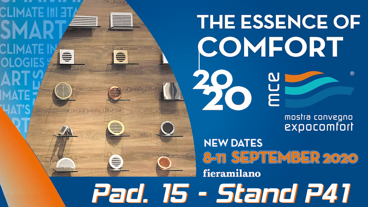 Mostra Convegno Expocomfort 2020 – postponed