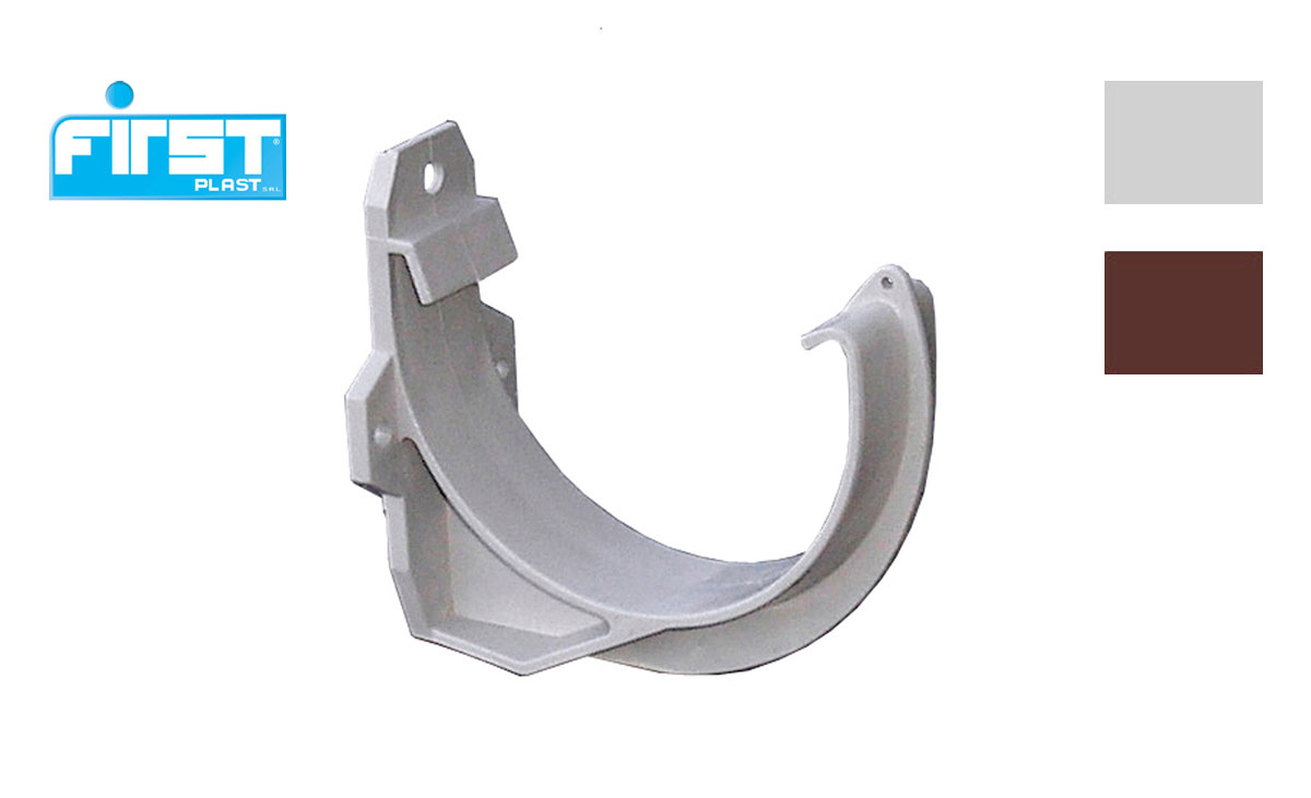 Pvc Bracket For Gutter Profile 100 First Corporation