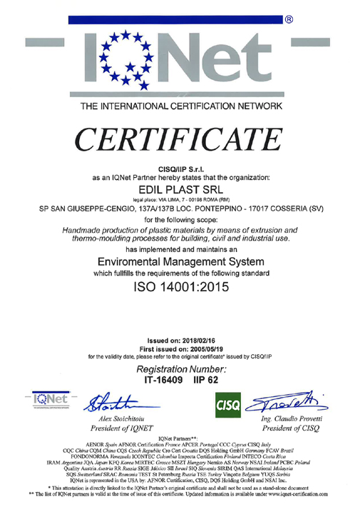 Certifications First Corporation