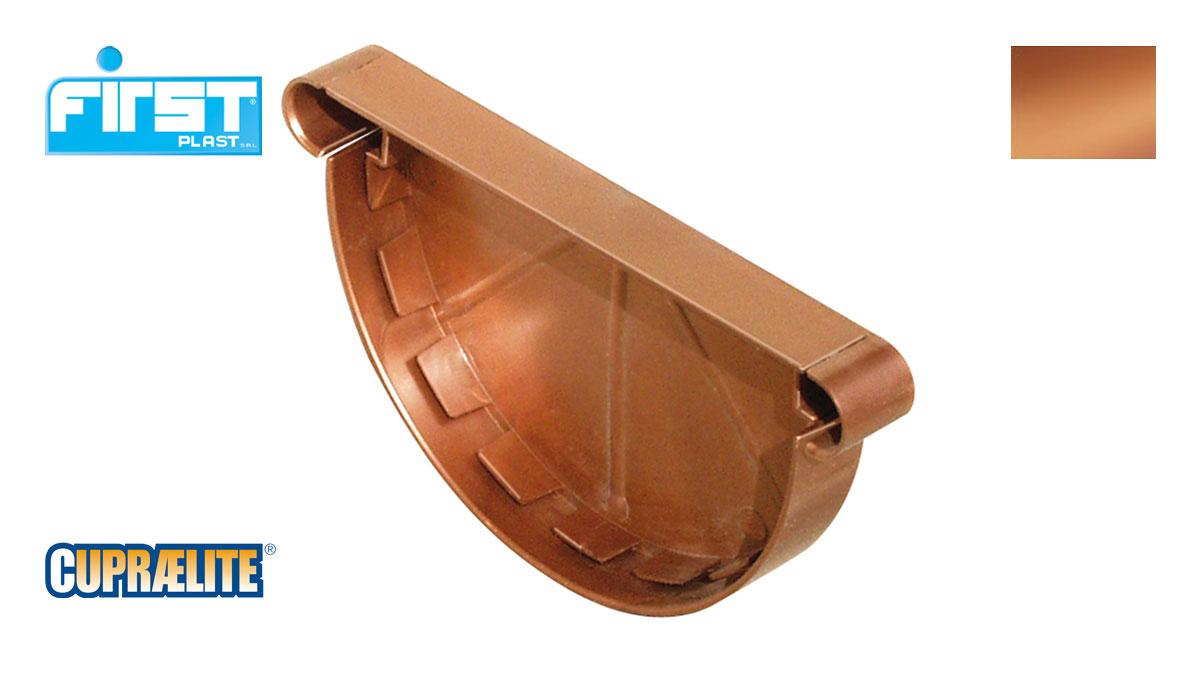 Gutter Cupraelite 125 Stopend Copper Effect First