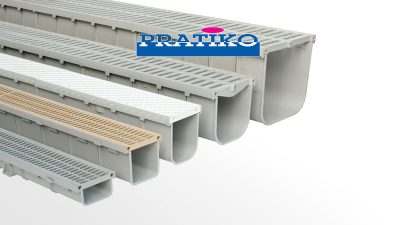 PVC drainage channels PRATIKO