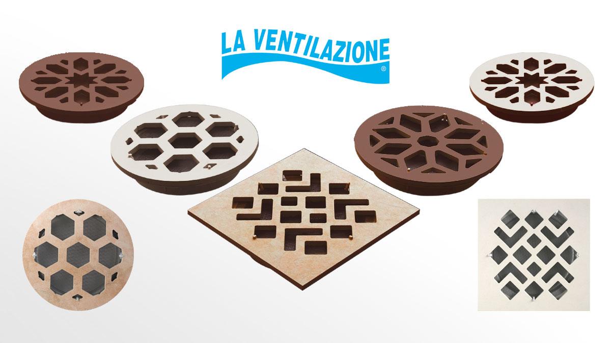 Ceramic Ventilation Grilles