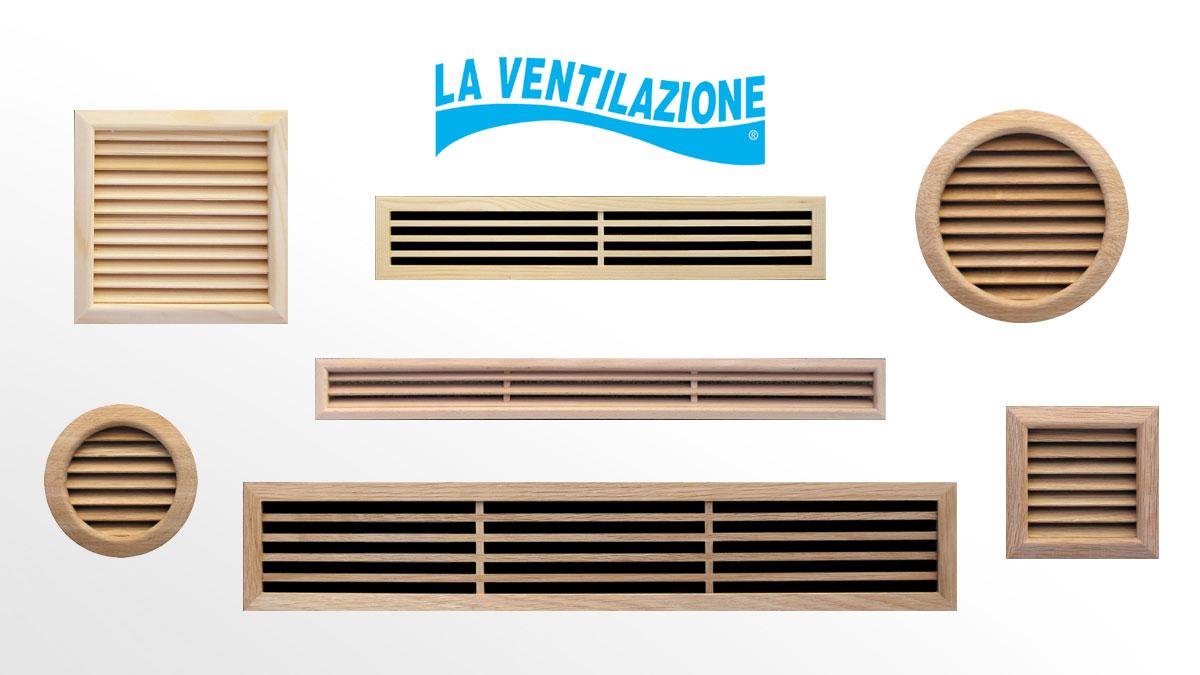 Wooden Ventilation Grilles