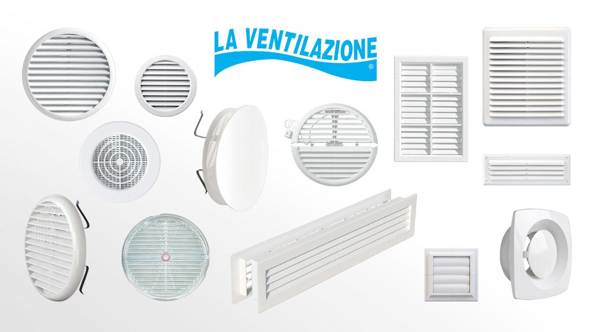 Plastic Ventilation Grilles