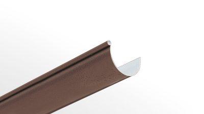 PVC coextruded rain gutter profile 125