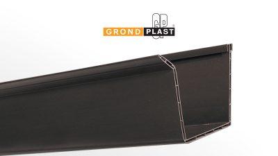 PVC double walled gutter profile G2
