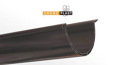 PVC double walled gutter profile G86