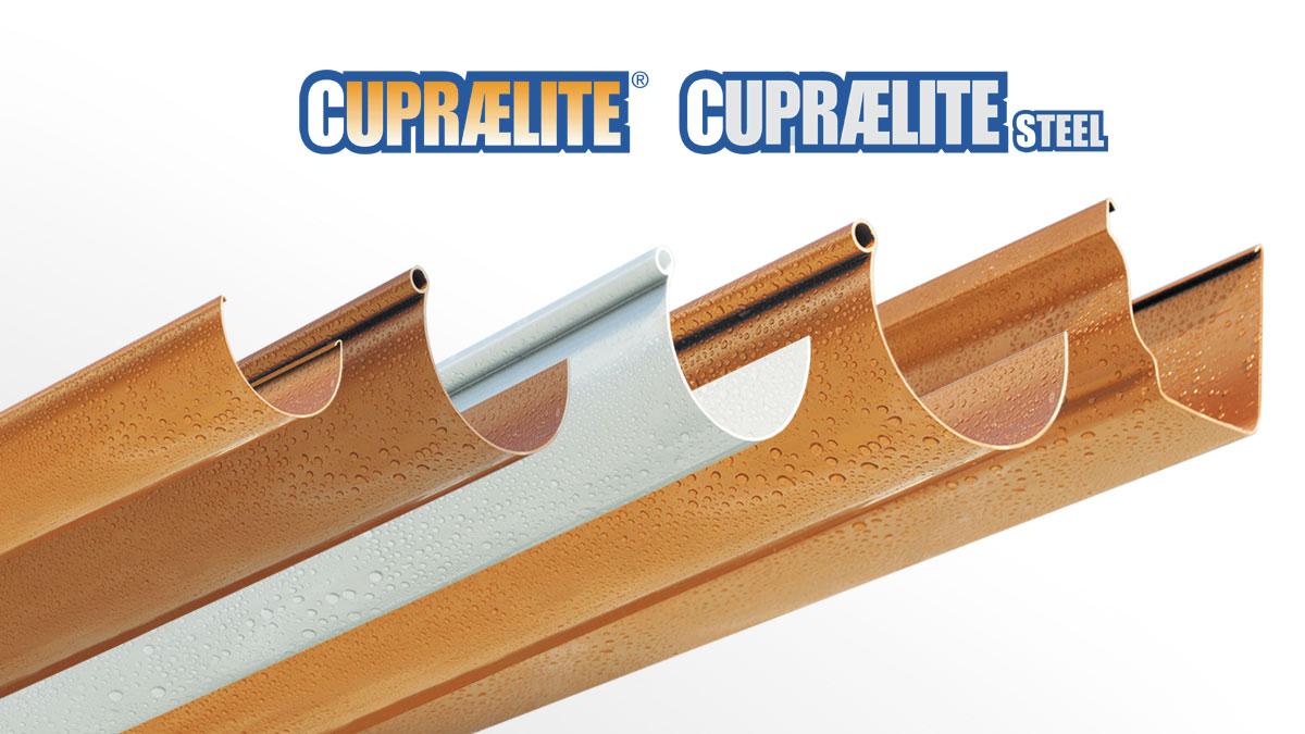 CUPRAELITE metal effect gutter profile