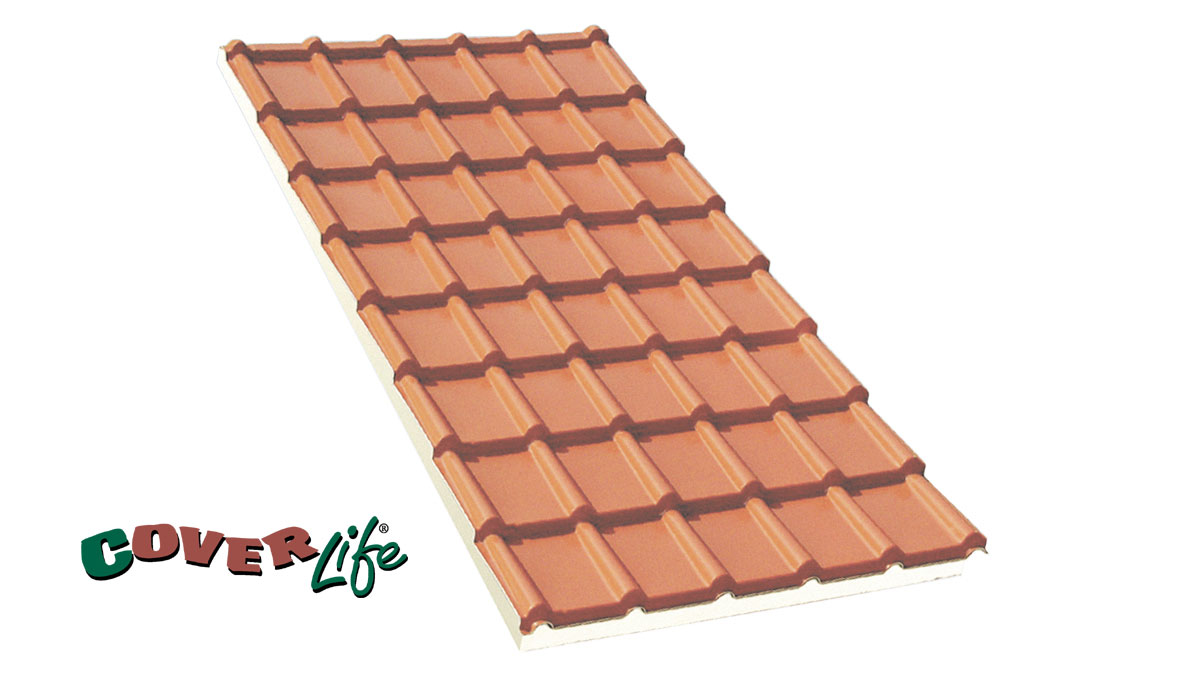 Roofing Sheet Tegola Isolife First Corporation