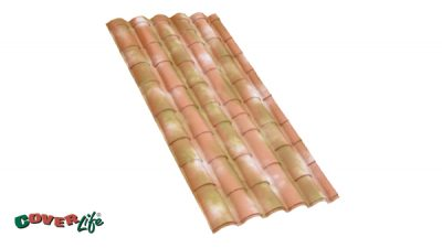 Residential roofing sheet - Lastra Rustica