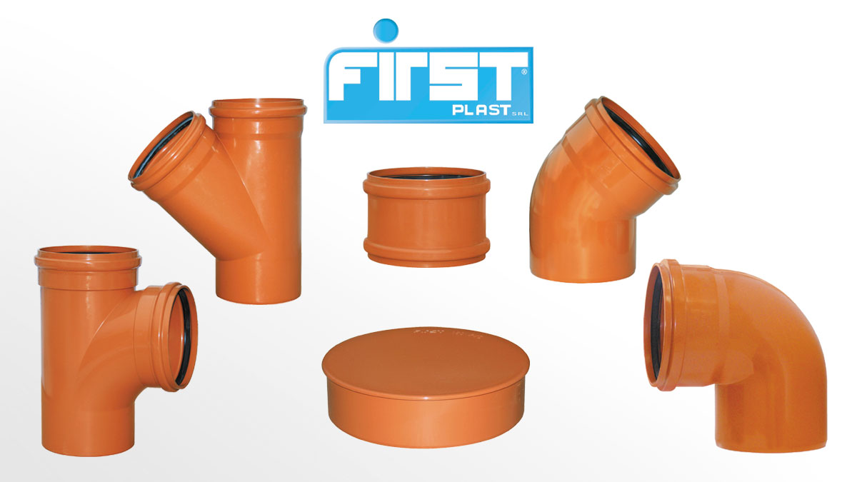 Fittings for sewage system