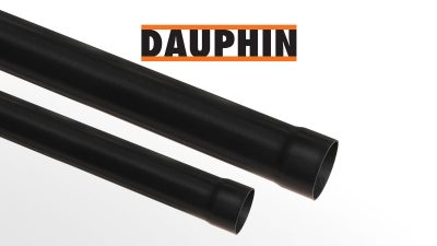 DAUPHIN PVC terminal anti-shock pipes